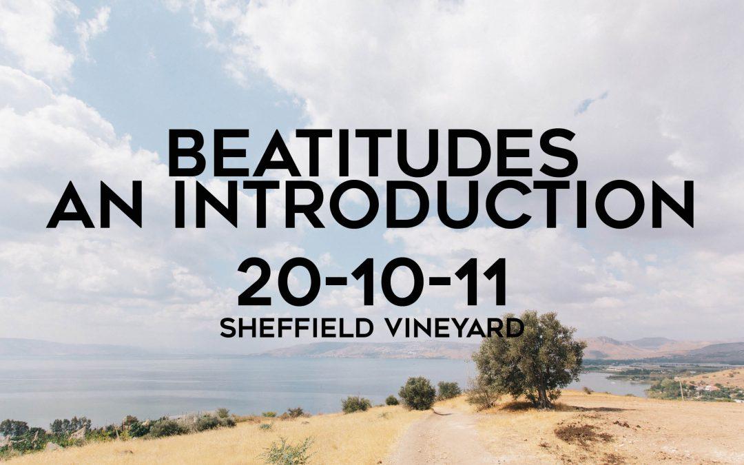 Beatitudes – An introduction