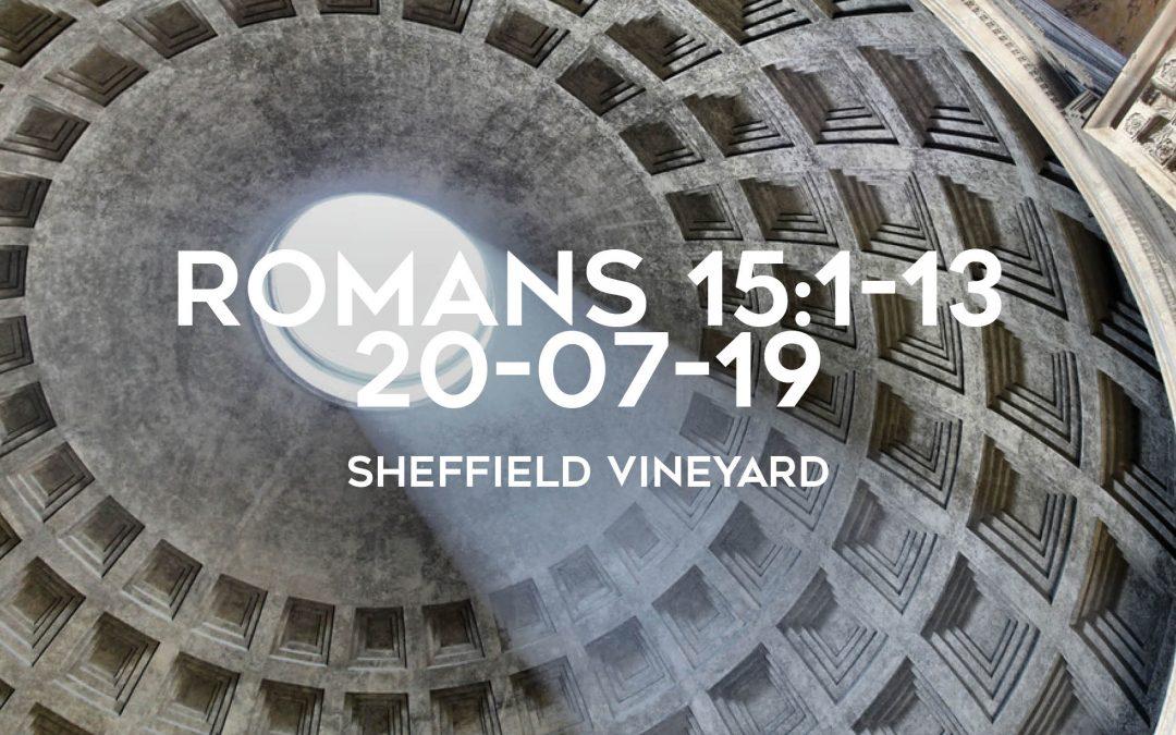 Romans 15:1-13