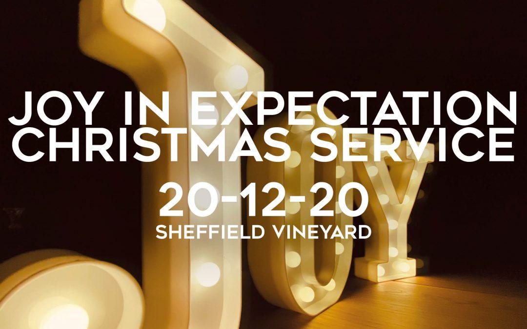 Christmas – Joy in expectation