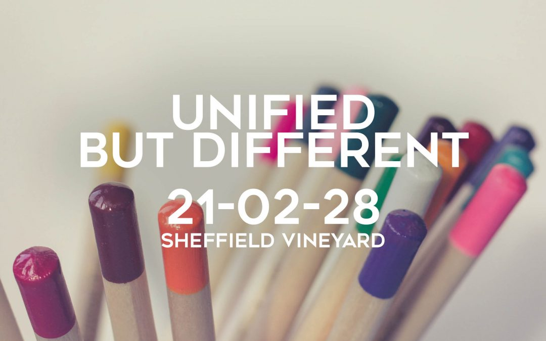 Unified but different