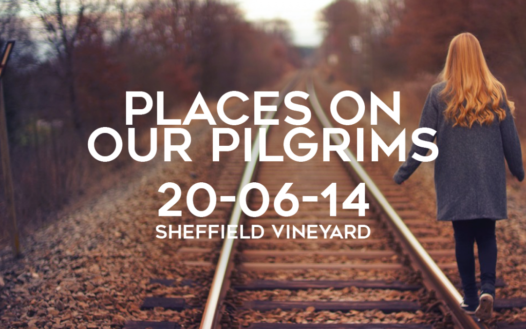 Places on our pilgrims