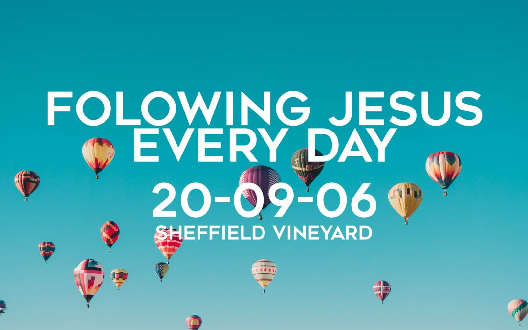 Following Jesus Every DAY – Introduction