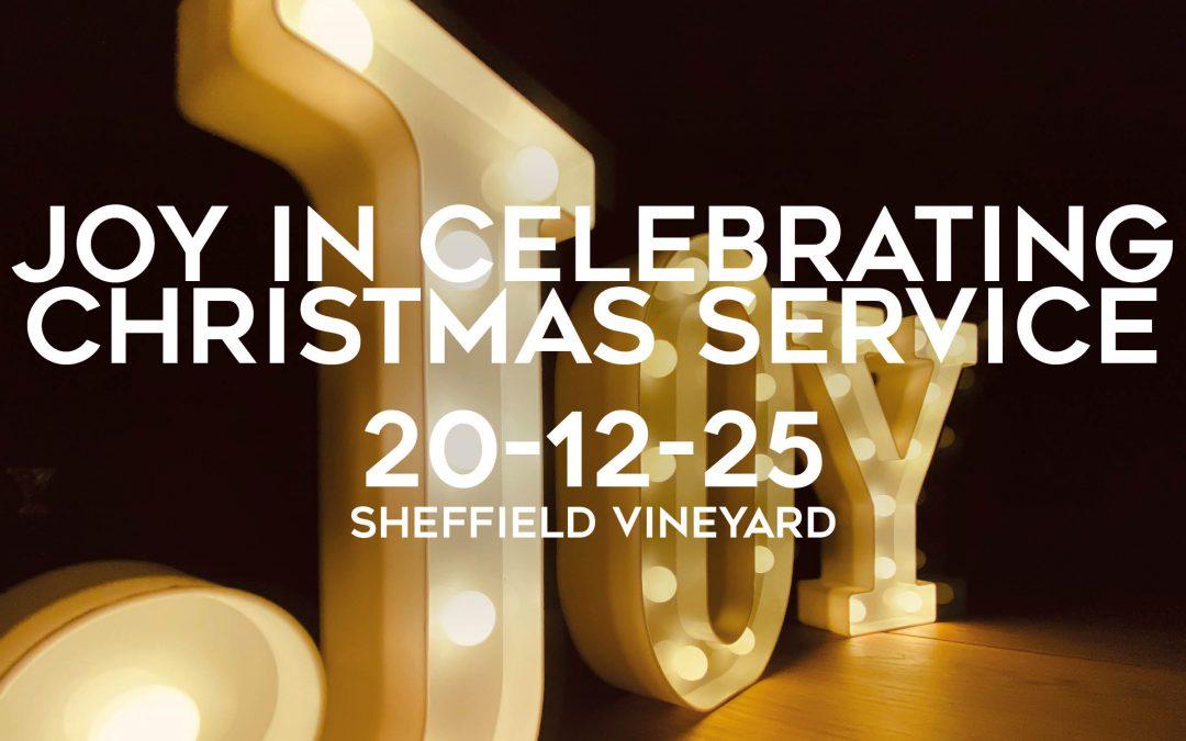 Christmas – Joy in celebrating
