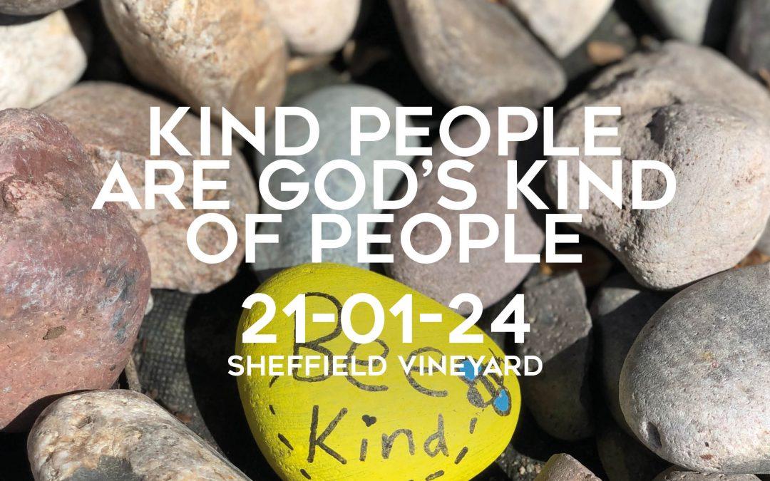 Kind people of God's kind of people