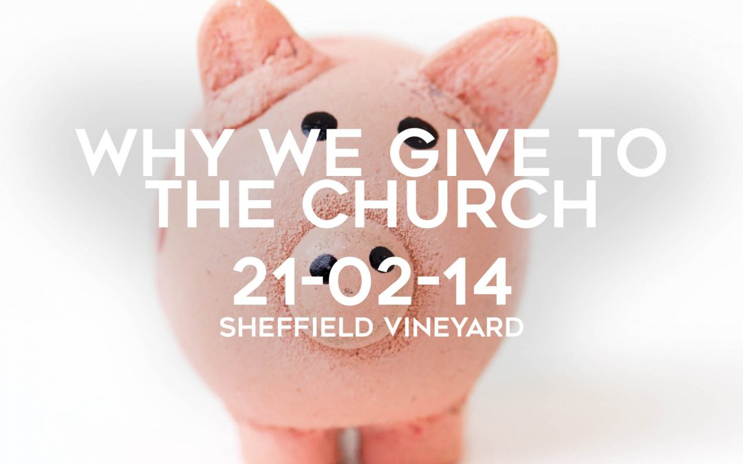 Why we give to the church